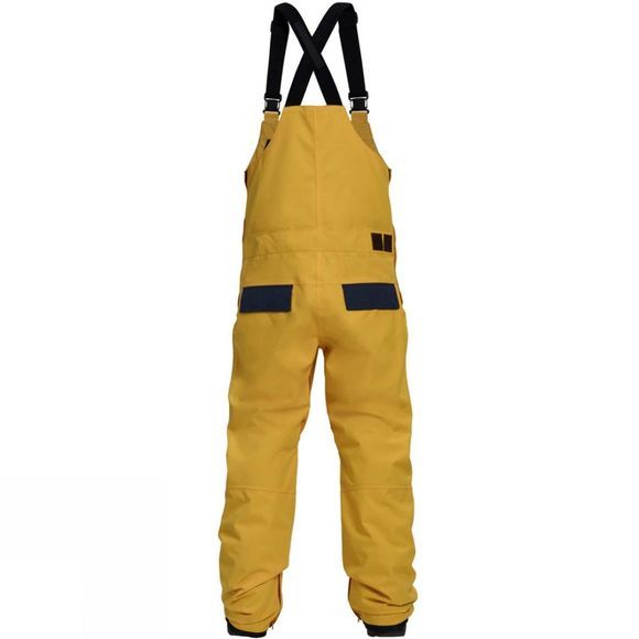 Analog Mens AG Ice Out Bib Pant Flashback/ Mood Indigo