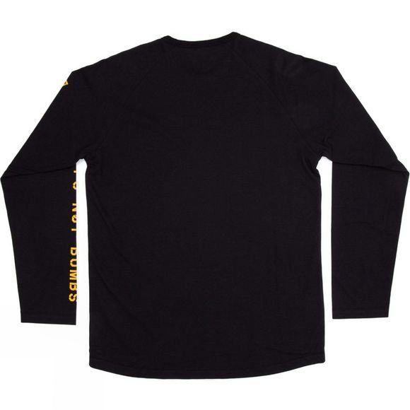 Planks Men's Sticks Long Sleeve T-Shirt Black