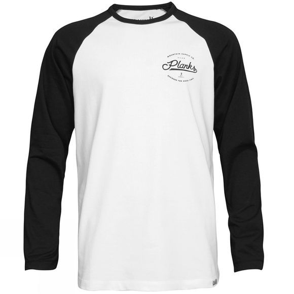 Mens Mountain supply Co. Long Sleeve Tee