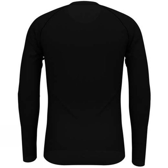 Odlo Mens Active F-Dry Light Long Sleeve Crew Black