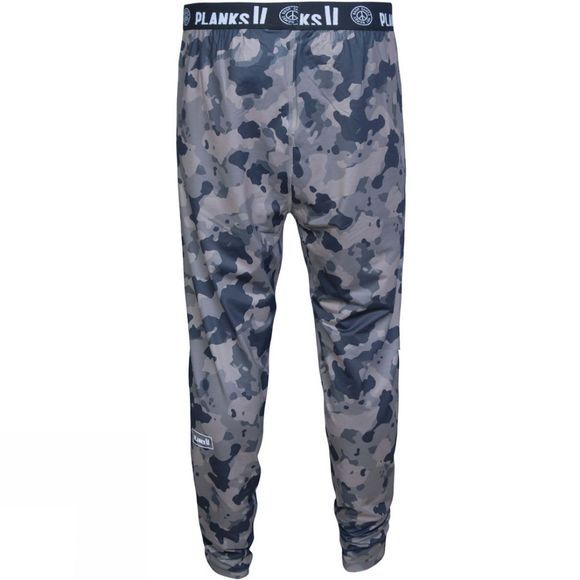 Planks Mens Base Layer Bottoms Stone Camo