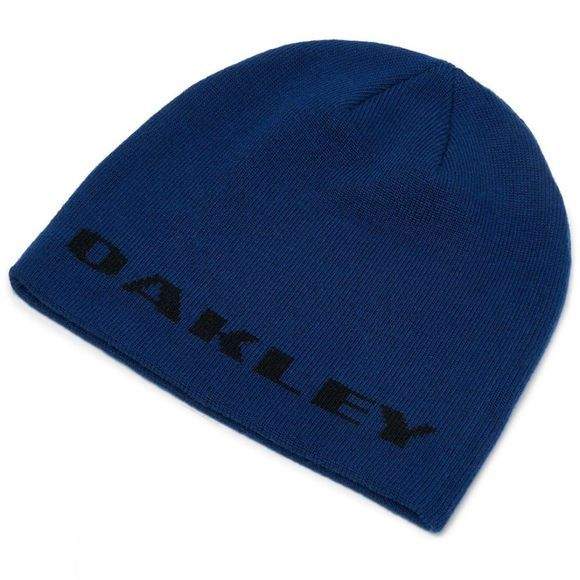 Oakley Mens Rockslide Beanie Dark Blue