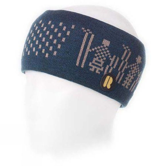 Riggler Mens Safra Headband Blue/ Grey