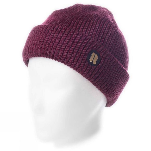 Riggler Mens Johansen Beanie Deep Red