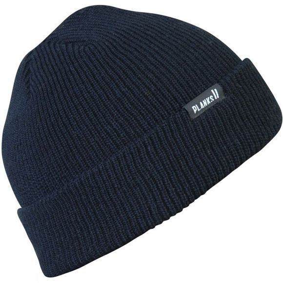 Planks Mens Essential Beanie Black