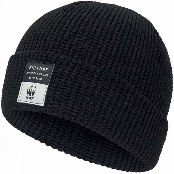 Picture WWF Work Beanie WWF Black