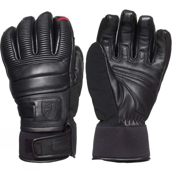 Toni Sailer Sports Mens Jesse Leather Glove Black