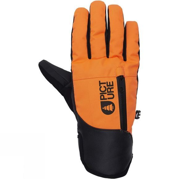 Picture Mens Madison Glove Orange