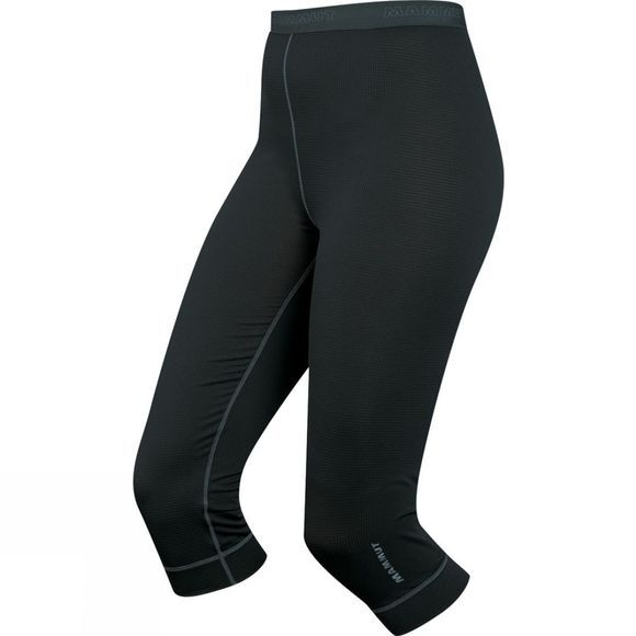 Mammut Womens Go Warm Pants 3/4 Black