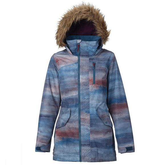 Women's Hazel Faux Fur Parka Snow Jacket