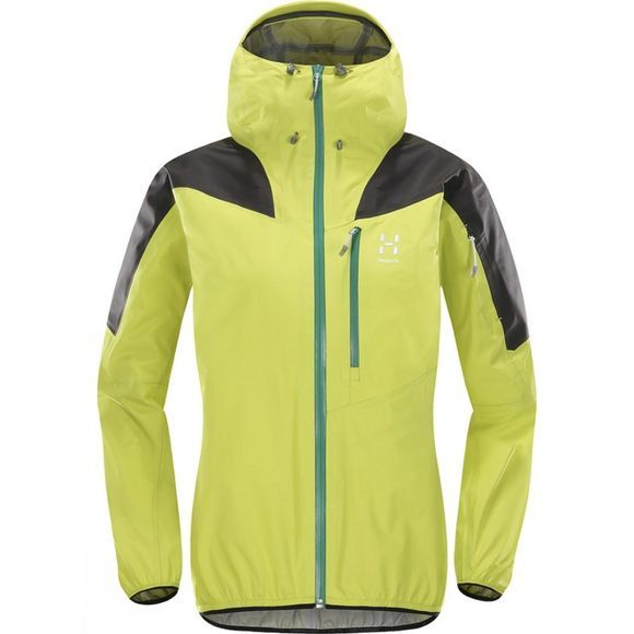 Haglofs Womens Touring Active Jacket Star Dust/Slate