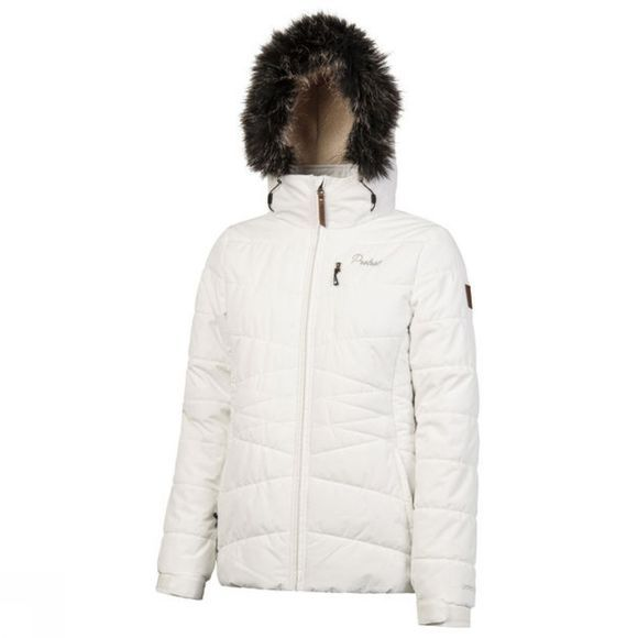 Protest Womens Valdez Jacket Seashell