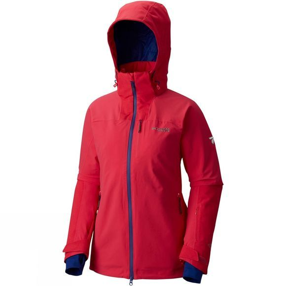 Columbia Womens Poder Keg Jacket PUNCH PINK
