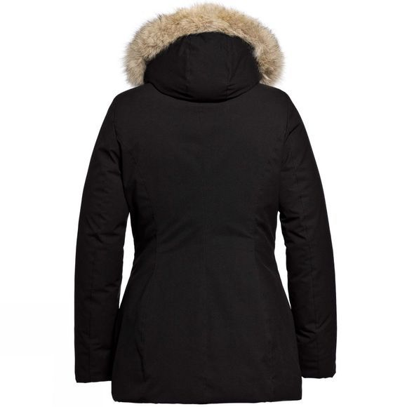 Goldbergh Womens Jetta Faux Fur Parka Black