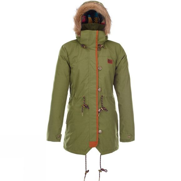 Picture Womens Katniss Jacket GREEN OLIVE