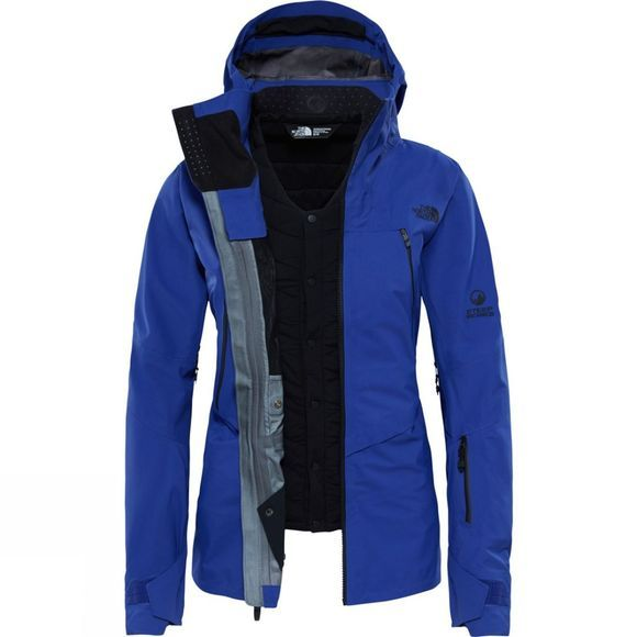 The North Face Womens Purist Triclimate Jacket Inauguration Blue