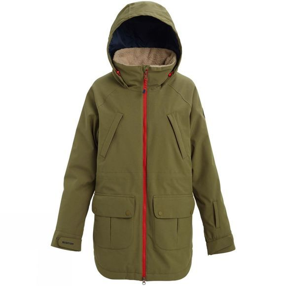 Burton Womens Prowess Jacket Martini Olive