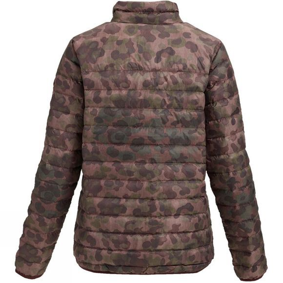 Burton Womens Evergreen Down Collar Jacket Pink Camo