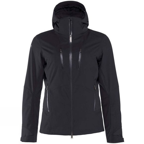 Head Womens Aerial Jacket Black Caviar