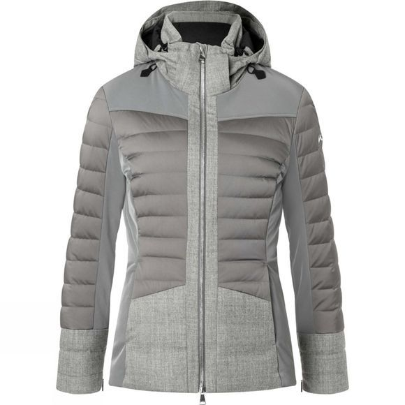 KJUS Womens Palu Jacket Steel Grey Melange