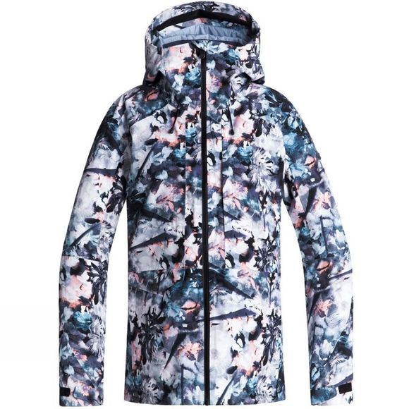 Roxy Womens Essence 2L Jacket Bachelor Button Water