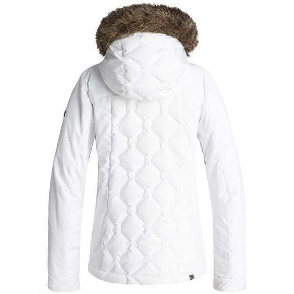 Roxy Womens Breeze Jacket Bright White