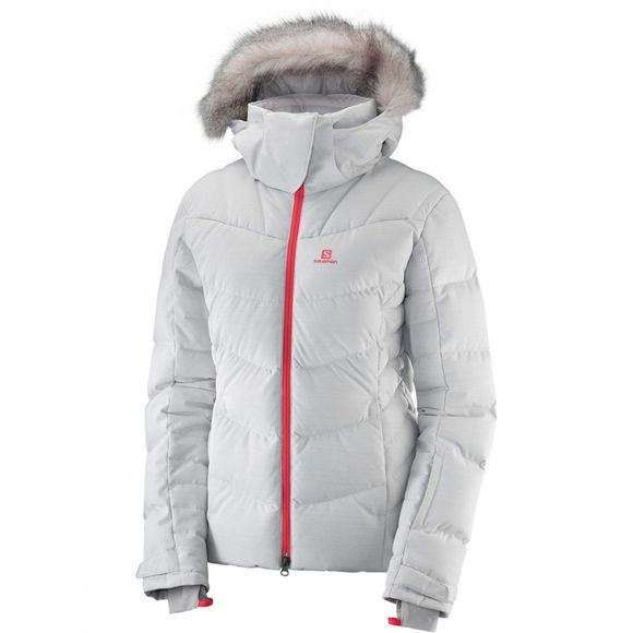 Salomon Womens Icetown Jacket White