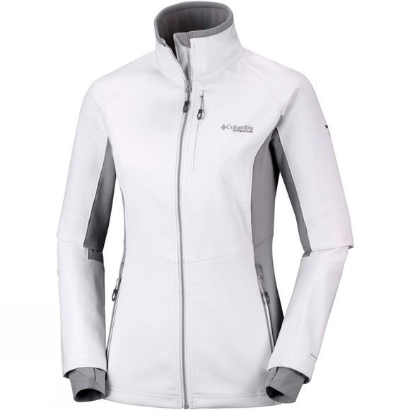 Columbia Womens Titan Ridge III Hybrid Jacket White/ Astral