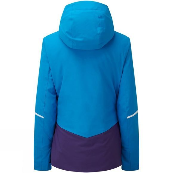 Degre 7 Womens Sana Jacket Ultra Blue/White Zip