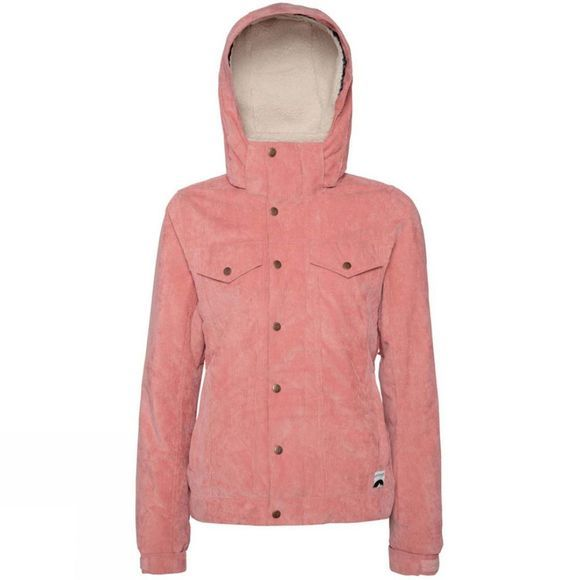 Protest Women's Cutie Snow Jacket Think Pink