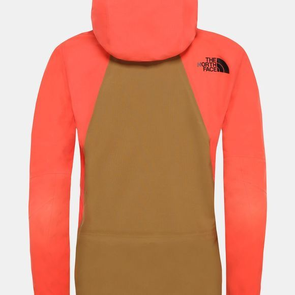 The North Face Womens Purist Steep Series Futurelight Jacket Radiant Orange/British Khaki
