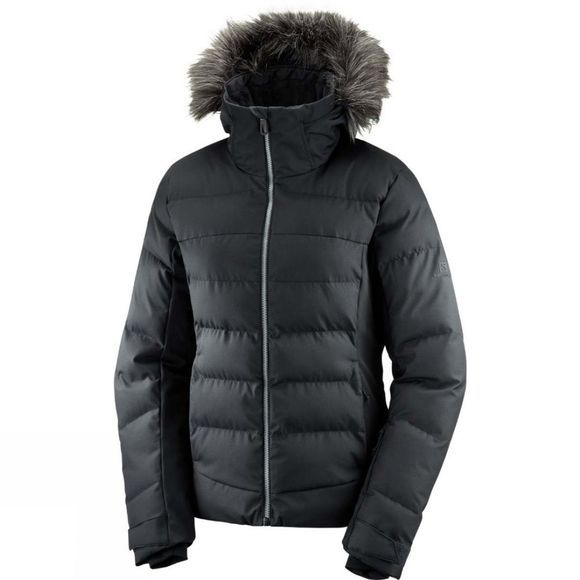Salomon Womens Stormcosy Jacket Black