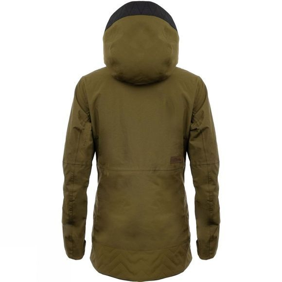 Planks Women's All-time Insulated Jacket Army Green