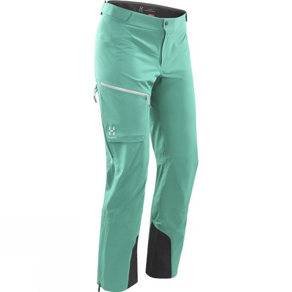 Haglofs Womens Touring Proof Pants Crystal Lake