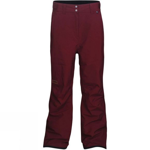 Planks Women's Good Times 2 Layer Pants  Maroon