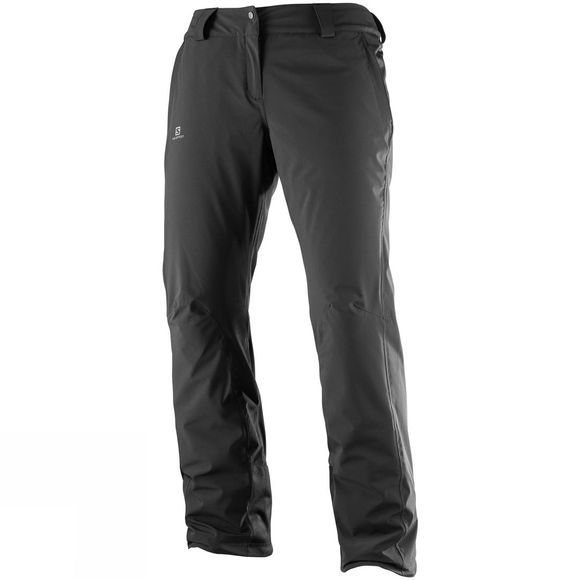 Salomon Womens Icemania Snow Pants Black