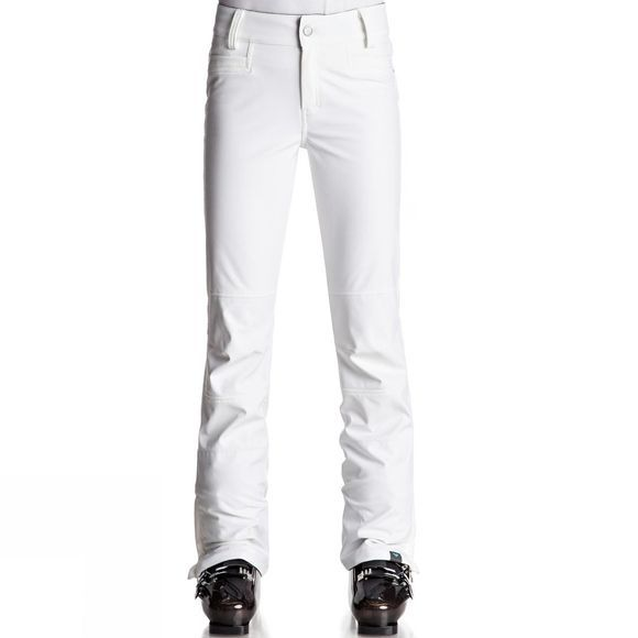 Roxy Womens Creek Snow Pants BRIGHT WHITE