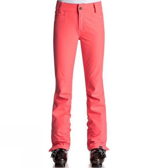 Roxy Womens Creek Snow Pants NEON GRAPEFRUIT