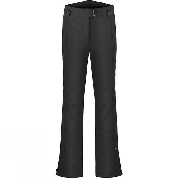 Poivre Blanc Womens Stretch Ski Pant Black