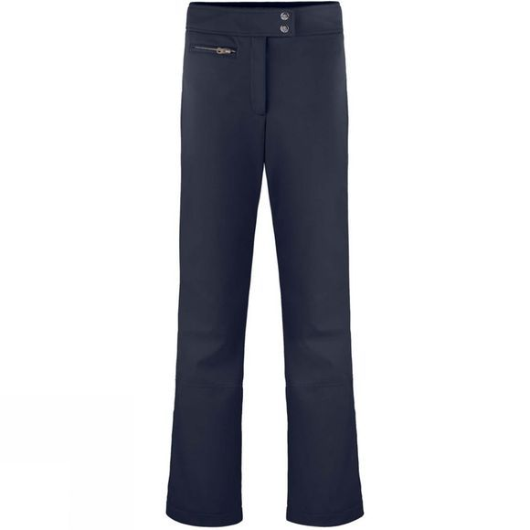 Poivre Blanc Womens Softshell Pants Gothic Blue3