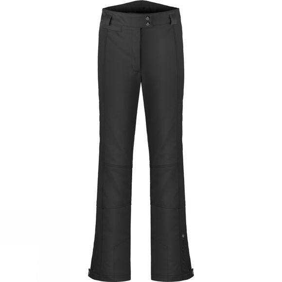 Poivre Blanc Womens Stretch Short Ski Pants Black