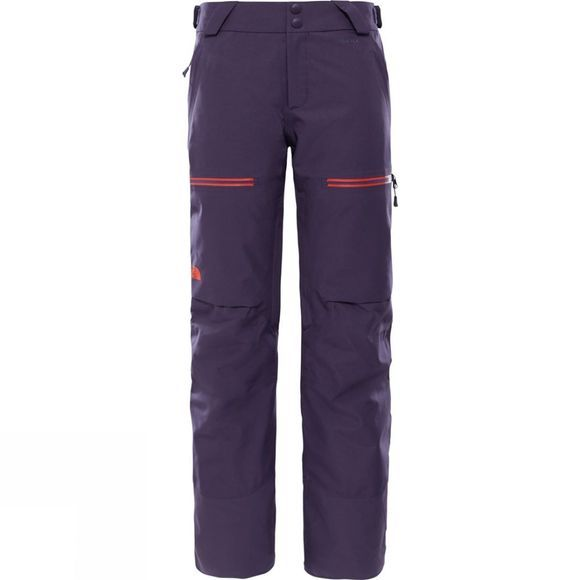 The North Face Womens Powder Guide Snow Pant Dark Eggplant Purple