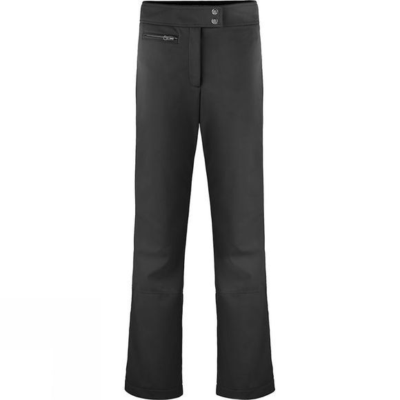 Poivre Blanc Womens Softshell Pant - Short Black