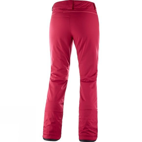 Salomon Womens Stormseason Pant Rio Red