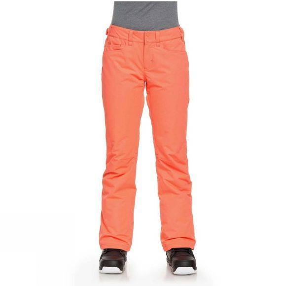 Roxy Womens Backyard Pant Living Coral