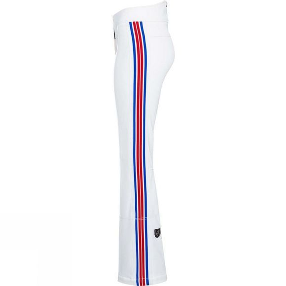 Toni Sailer Sports Womens Luella Pant White/Red/Blue
