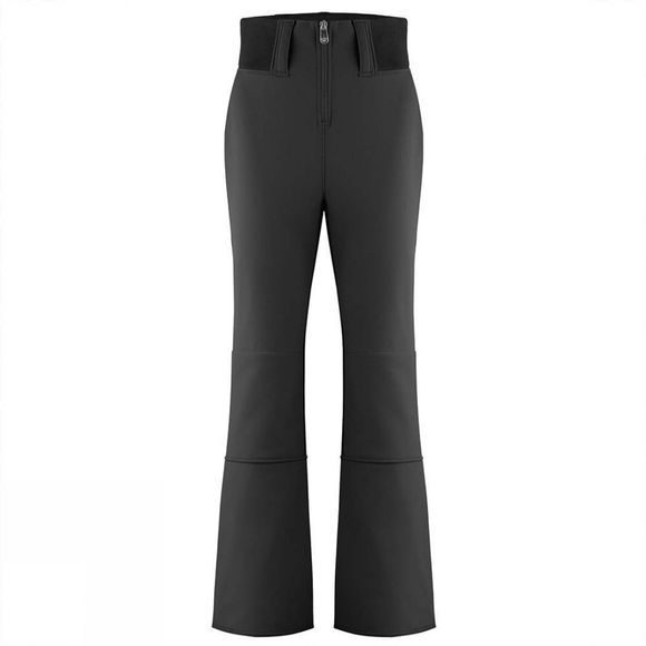Poivre Blanc Womens High Waist Softshell Pants Black