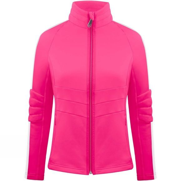 Poivre Blanc Womens Retro Stretch Fleece Ambrosia Pink