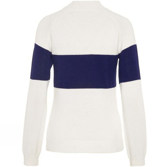 J.Lindeberg Womens Alice Wool Knitted Jumper Cloud White