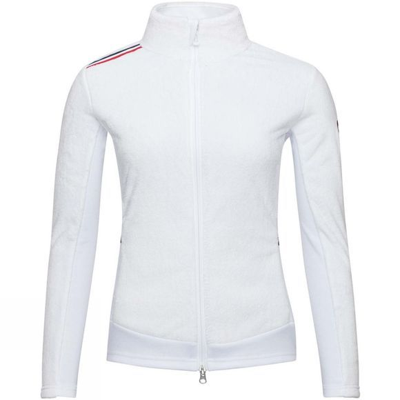 Rossignol Womens Palmares Full Zip Fleece White